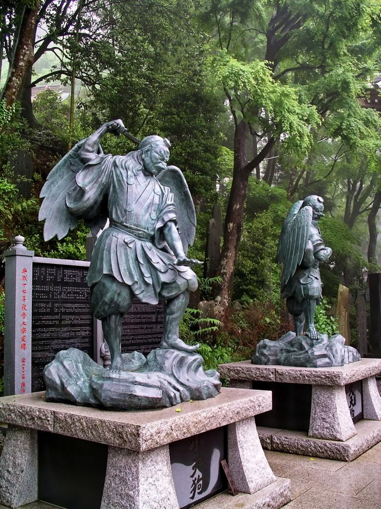 Tengu_statues_on_Mt._Takao_176135163_b06ffb2f46_o